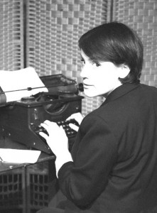 Catherine typing